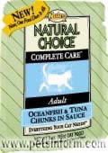 NUTRO CHOICE COMPLETE CARE ADULT OCEAN FISH & TUNA Chunks in Sauce